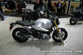 bmw motorrad r nine t bmw r nine t side at motor expo indian autos
