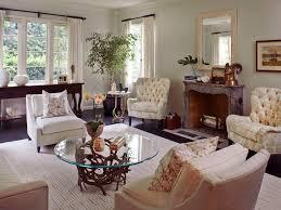chandelier red sofa white paneled opening polka dot pillows