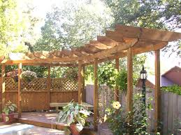 backyard trellis ideas home outdoor decoration