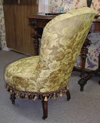 Slipper Armchair American Victorian Ladies Slipper Chair At Beyond Expression
