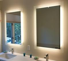 bathroom mirror with led lights mirror design ideas contemporary yellow bathroom mirrors with led