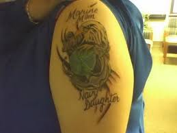 daughter father dad tattoo grunt corps tattoos details 5429019