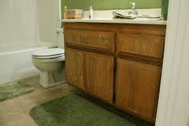 how to repaint bathroom cabinets clever nest diy repainting bathroom cabinets quick and easy