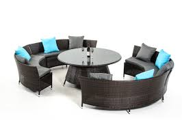Outdoor Wicker Dining Set Luxemburg Outdoor Dining Set