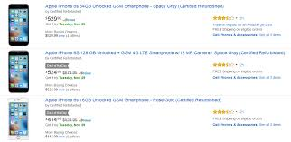 amazon best cell phone deals gsm black friday unlocked amazon has early cyber monday deals on refurbished apple iphone 6s