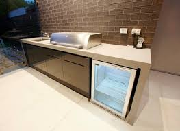 Stainless Steel Outdoor Kitchen Cabinets Ellajanegoeppingercom - Outdoor bbq kitchen cabinets
