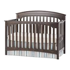 Crib Converts To Toddler Bed Bedroom Beautiful Space For Your Baby With Convertible Crib