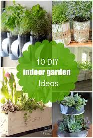 indoor herb gardens diy home outdoor decoration