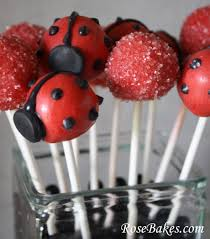 ladybug cake pops ladybug party cake cookies cake pops smash cake cake pop