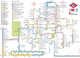 Tourist Map Of San Francisco by Madrid Metro Map Madrid Spain U2022 Mappery M A P Pinterest