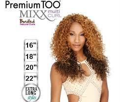 bohemian hair weave for black women premium too mixx multi curl bohemian wave weave 16 18 20 22