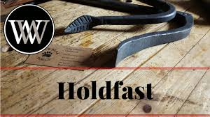 what is a holdfast and how to use a hold fast hand tool for the