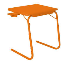 Table Cup Holder Buy Orange Table Mat Ii 2 Folding Portable Adjustable Table With