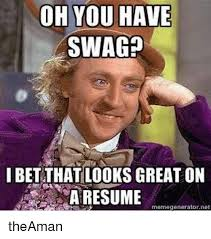 amazing resume meme images exle business resume ideas