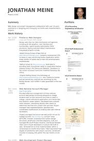 Resume Samples For Designers by Freelance Web Designer Resume Samples Visualcv Resume Samples