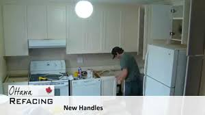 time lapse of a kitchen reface youtube