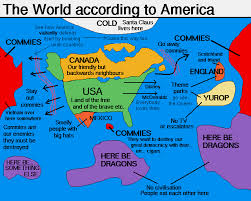 chicago map meme the world according to your meme