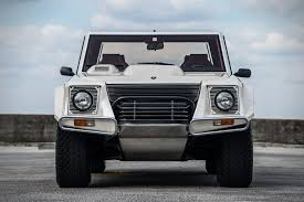 off road lamborghini auction block 1990 lamborghini lm002 hiconsumption