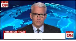 Breaking News Meme Generator - cnn breaking news anderson cooper blank template imgflip