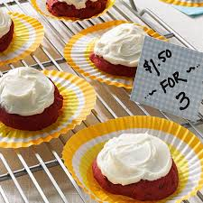 frosted red velvet cookies recipe taste of home