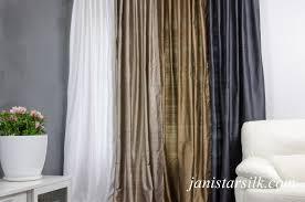 Thai Silk Drapes Curtains Unforeseen Silk Champagne Curtains Beguile Silk