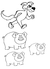 pigs pictures coloring