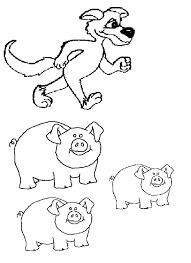 pigs printables coloring