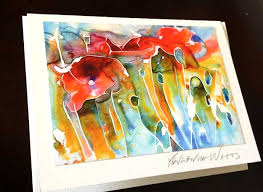 painting greeting cards in watercolor how to make greeting cards with your by yevgenia watts