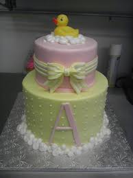 ducky and bubbles baby shower cake cakes pinterest