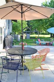 How To Paint Metal Patio Furniture How To Paint Metal Lawn Furniture Refresh Living