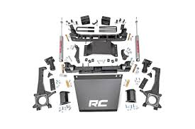 prerunner truck suspension amazon com rough country 747 20 6 inch suspension lift kit w