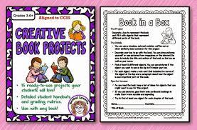 ten great creative book report ideas minds in bloom