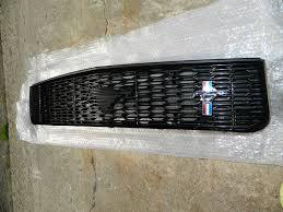 Black Mustang Grille Emblem How To Install A Modern Billet Upper U0026 Lower Overlay Grille On