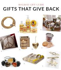 gift guide 2014 10 gifts that give back gibbons