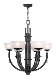 themed ls lite source ls 19536 asian themed 6 light up lighting chandelier
