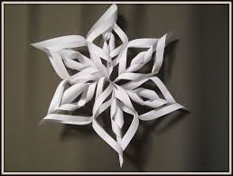 paper snowflake art and craft for kids how to make 3d christmas