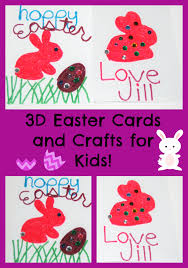 Easter Decorations Png by 3d Easter Card Crafts Kids Can Make Wikkistix U2022 The Preschool