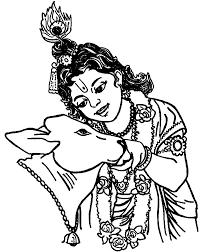 krishna talking holy coloring pages download u0026 print