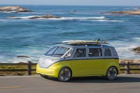 volkswagen bus 2000 vw re imagines the u002760s microbus with this new all electric van