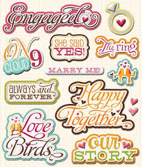 wedding scrapbook stickers 3d engagement stickers 9529 wedding stickers scrapbooking
