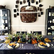 dining room wall decor update and my thanksgiving tabletop designed