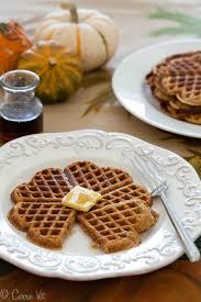 thanksgiving waffle pumpkin spice waffles grain free paleo