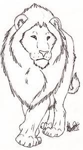 free lion sketch by rurouna by misfit pride deviantart com
