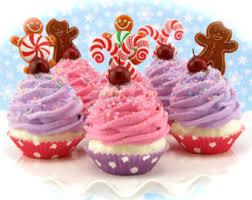 mini cupcake ornaments sugar plum