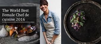 femme plus cuisine dominique crenn chef bretonne expatriée aux états unis classée