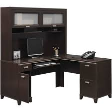 Realspace Magellan Desk Bush Furniture Tuxedo L Desk And Hutch Walmart Com