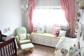 Nursery Curtains Pink by Mommy Vignettes Nursery Reveal Source List
