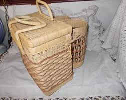 country wine basket wine basket etsy