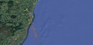 Lightning Strike Map Real Time Map Shows Thousands Of Lightning Strikes Near Aberdeen