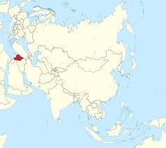syria on map file syria in asia claims mini map rivers svg wikimedia